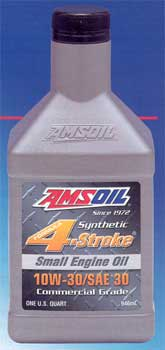 AMSOIL 10W-30/SAE 30 Synthetic Small Engine Oil